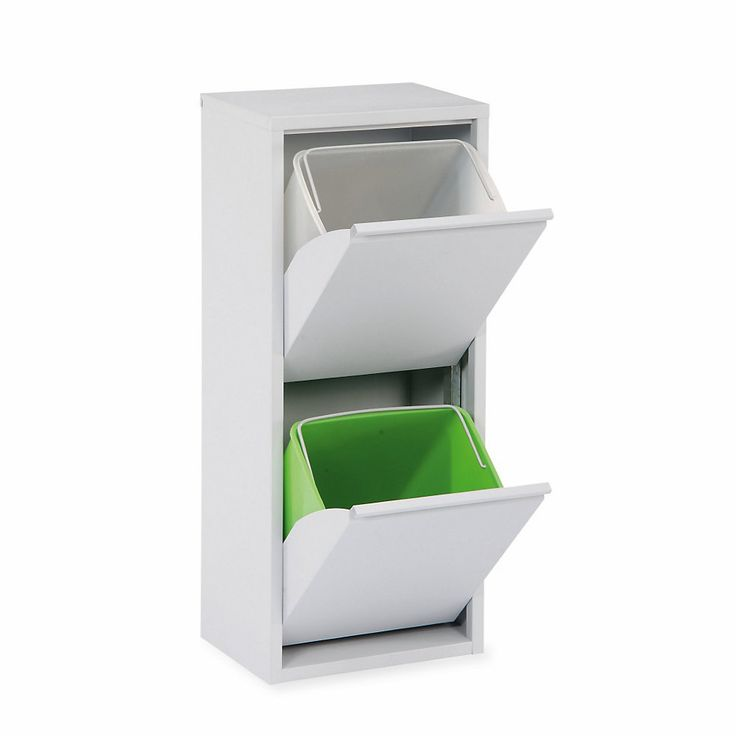Zurückhaltend gestaltet, aber für unterschiedliche Zwecke nutzbar, z. B. als Müll- oder Wertstoffsammler in... - Wäsche- und Abfallsammler Lader