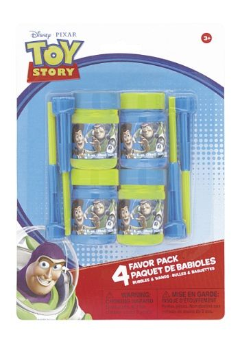 Toy Story Bubbles and Wands - 4 for $1.99