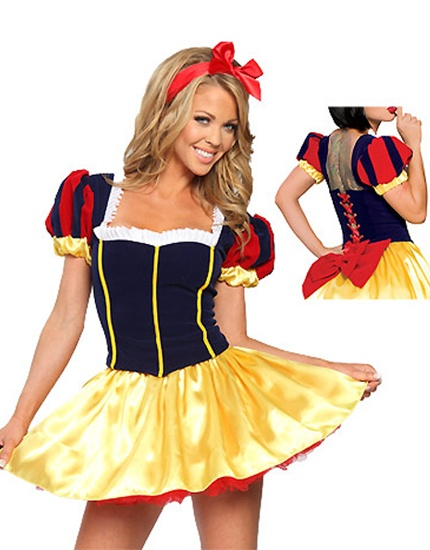 LADIES SEXY SNOW WHITE DISNEY FANCY DRESS COSTUME/OUTFIT/ WILL FIT SIZE 8-10 | eBay nic waaahhhhhh