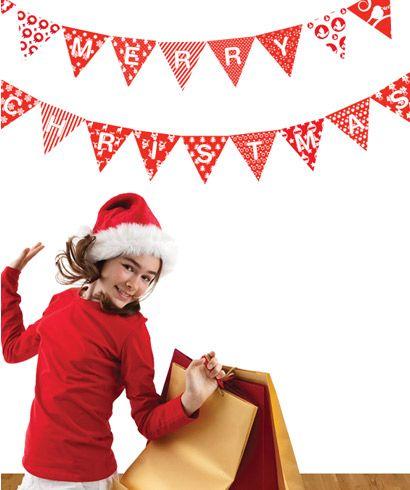 Christmas Bunting   www.belbambinokids.com.au