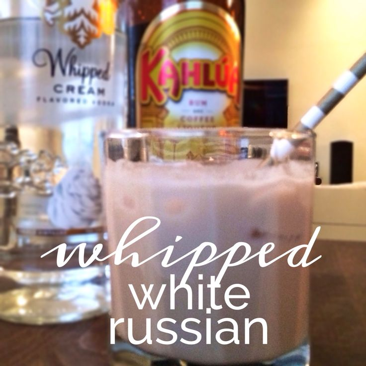 thirsty thursday: whipped white russian