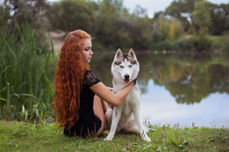 Husky and a girl | Photoshoot with Sacha | Pinterest ...