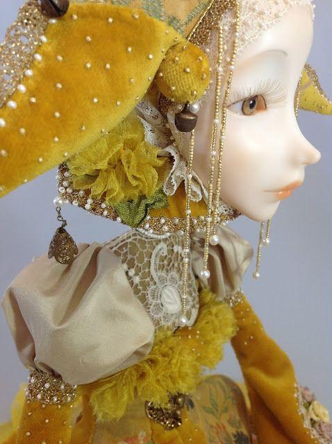 Кукольная мастерская ANNADAN: ЭВА... Новая работа, солнечная девочка.