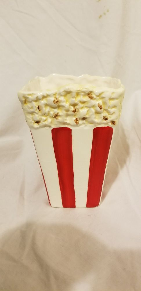 Vintage Grynnen Barrett Movie Popcorn Tub Novelty Figural Ceramic Container | Collectibles, Decorative Collectibles, Other Decorative Collectibles | eBay!