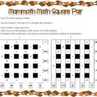 Warm up young brains with these Math Squares. A great day/Math class starter. Answers included....