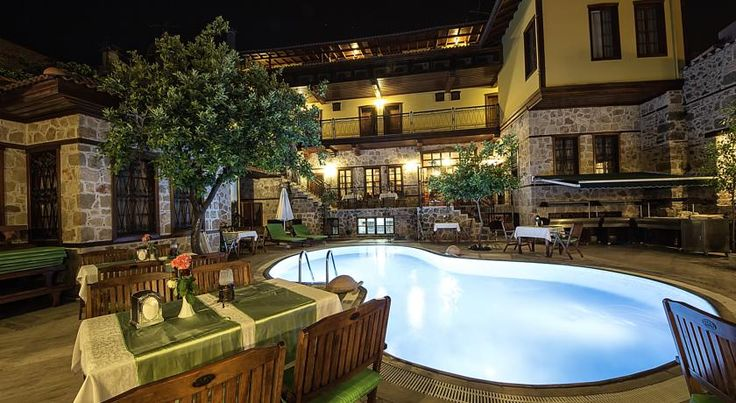 La Paloma Hotel Antalya The family-run La Paloma is a small guest house in the old city quarter of Antalya.  Built in the Ottoman style, this property is well-positioned for exploring the delights of this historical city. Hotel was renovated in the beginning of 2014.