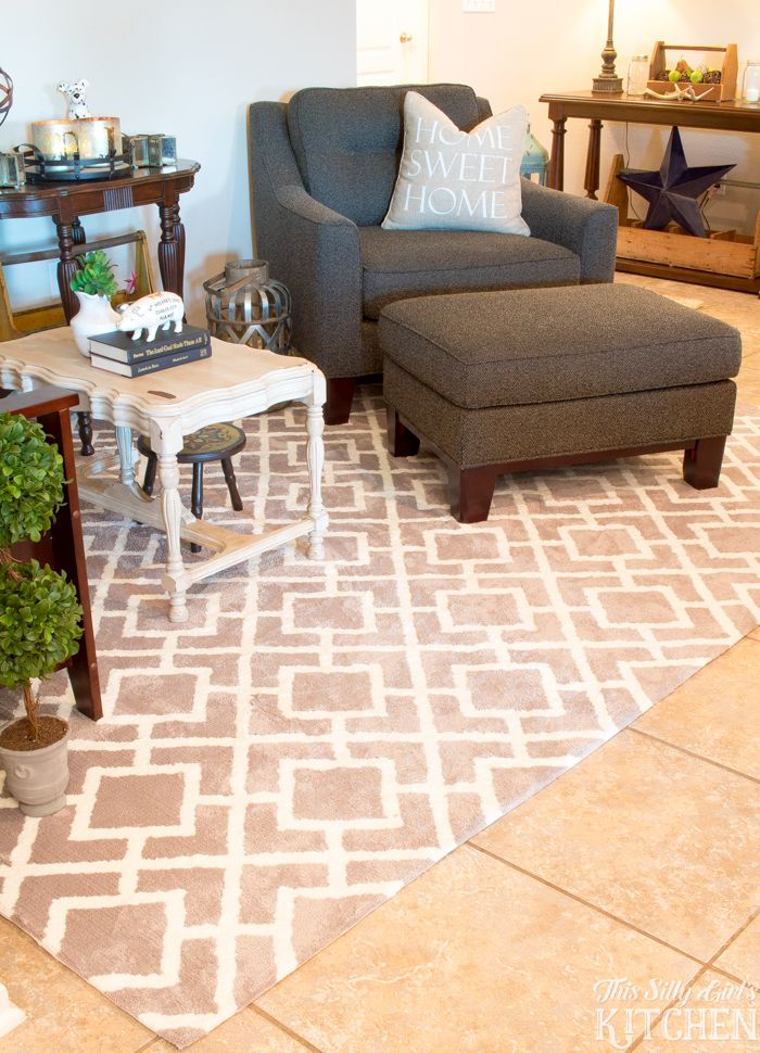 707 best home design decor images on pinterest modern for Farmhouse style kitchen rugs