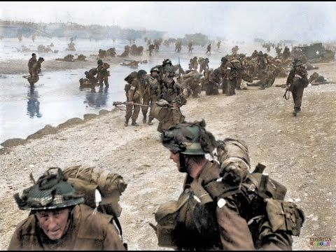 d-day landings at sword beach normandy