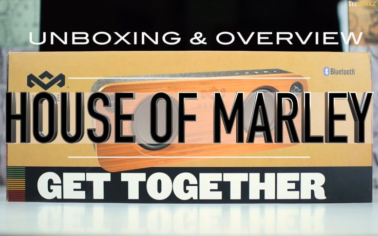 Unboxing and Overview of House of Marley Get Together Bluetooth Speaker