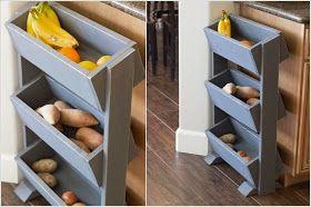 12 έξυπνοι αποθηκευτικοί χώροι και λύσεις για την κουζίνα που μπορείτε να φτιάξετε μόνοι σας.