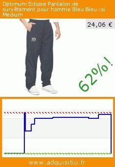 Optimum Eclipse Pantalon de survêtement pour homme Bleu Bleu roi Medium (Sports Apparel). Réduction de 62%! Prix actuel 24,06 €, l'ancien prix était de 64,00 €. http://www.adquisitio.fr/optimum/eclipse-pantalon-4