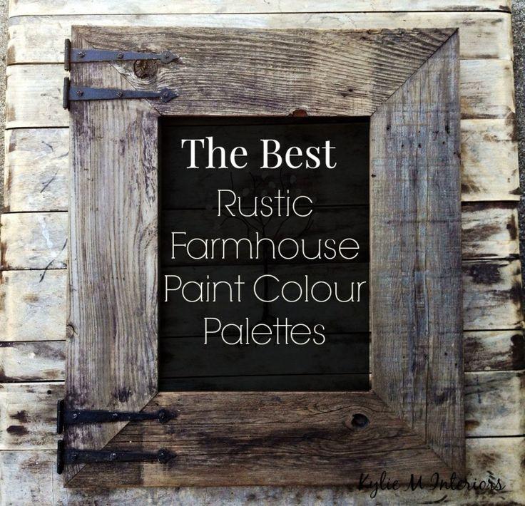 rustic kitchen wall paint color ideas   The Best Rustic Farmhouse Paint Colours – Benjamin Moore ...