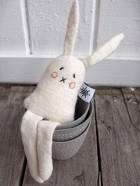 Coconut Ice Biscuit Bunny September Comptition prize by florenceforrest, via Flickr