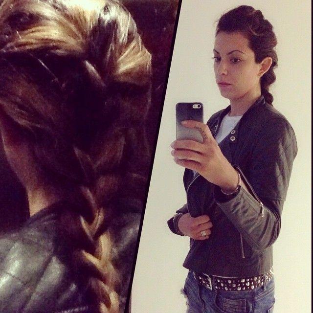"""Cool braid #braidt #treccia #hair #style #cool #look #fashion #me #wow #webstagram #womensfashion #top #top #insta #instame #photooftheday #followme…"""