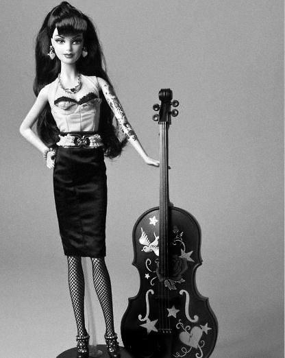 Barbie cello
