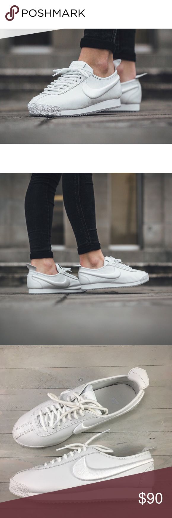 Women's Nike Cortez '72 SI Sneakers Women's Nike Cortez '72 SI Sneakers was designed to be lighter and more waterproof than any other shoe.  Style/Color: 881205-100  • Women's size 8.5  • NEW in box (no lid) • No trades •100% authentic Nike Shoes Sneakers