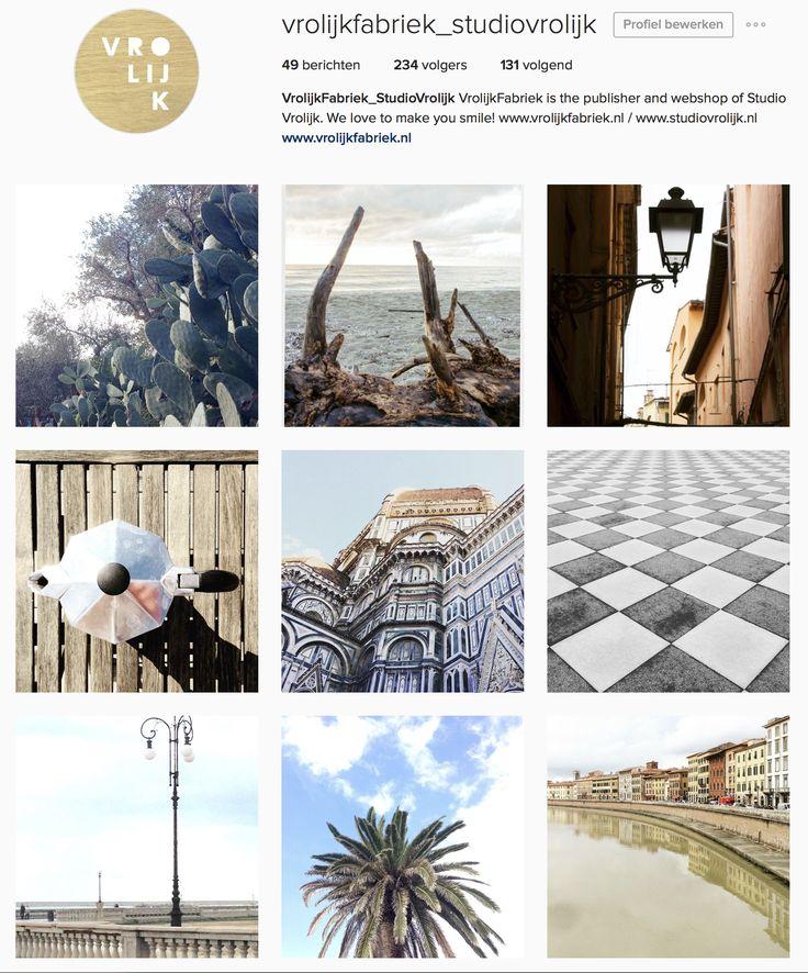 Follow us on instagram: we love to see your inspiration, welcome! https://www.instagram.com/vrolijkfabriek_studiovrolijk/