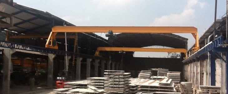 Industria de concreto pré moldados