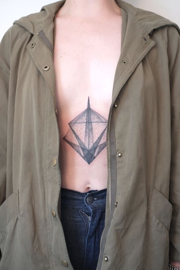 Graphically Gorgeous Geometric Tattoos
