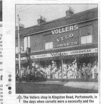 Vollers Shop in the 1930's!