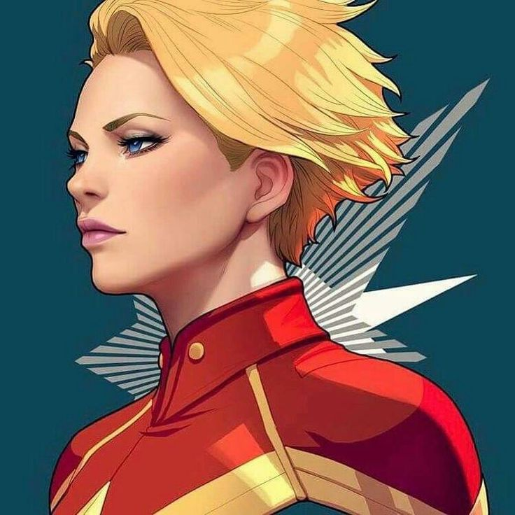 Captain Marvel / Carol  Danvers by Artgerm