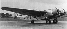 """Cunliffe-Owen OA-1 was a Burnelli UB-14 licensed for production in UK. A 20ft wide """"lifting"""" fuselage was used to reduce drag. Only one had been completed before the start of the war. The sole aircraft was pressed into service by the RAF and was eventually turned over to the Free French Air Force in Africa, where at one point it served as the personal transport of General Charles de Gaulle."""