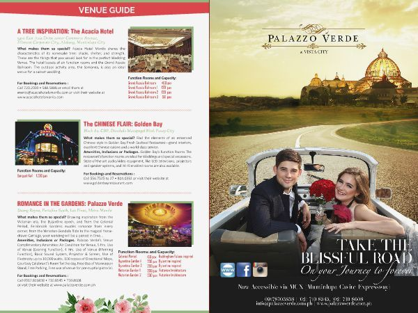 Searching for the perfect wedding venue? Check out  Palazzo Verde  Events Venue in the WEDDING DIGEST LUXE FOR LESS, the Revised Edition. It is converted  into a digital format with updated contents  available for FREE DOWNLOAD and FREE BROWSING at www.weddingdigest.com.ph  #WeddingDigestPh #emagazine #LuxeforLess #weddings #iloveweddings #venue #weddingvenue