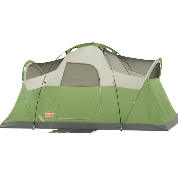 Coleman Montana 12 X 7 Foot 6 Person Weathertec Family Camping Tent W Carry Bag Wish Best Tents For Camping Family Tent Camping Family Tent