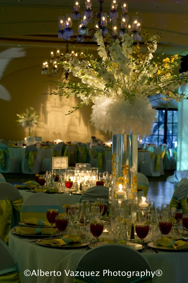 Cinderella Wedding at The Club At Sonterra, photo by Alberto Vazquez Photography, decor, lighting & design   by Events by Reese