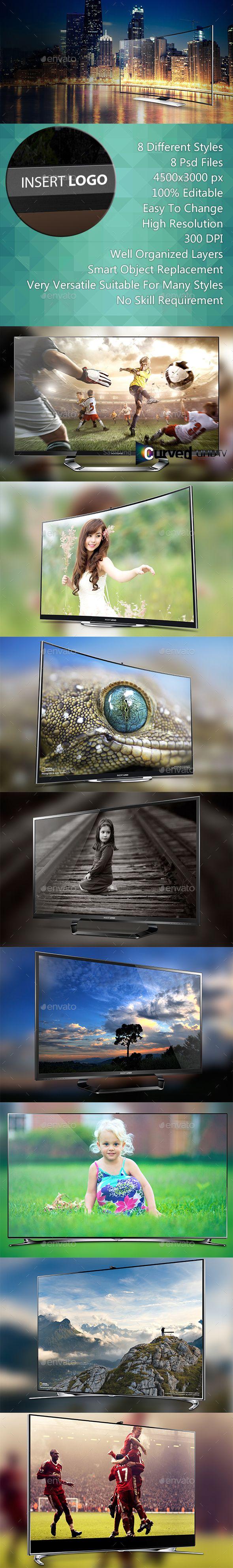 Smart Screen Mockup - UHD TV