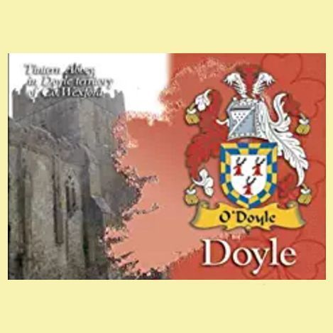 For Everything Genealogy - Doyle Coat of Arms Irish Family Name Fridge Magnets Set of 2, $12.00 (http://www.foreverythinggenealogy.com.au/doyle-coat-of-arms-irish-family-name-fridge-magnets-set-of-2/)