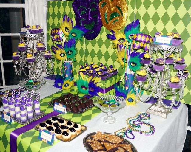 Mardi Gras Party #mardigras #party
