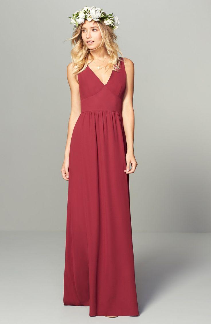 17 meilleures images propos de red bridesmaid dresses for Ligne de robe de mariage lauren conrad