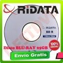 10 Blu-ray Disco Virgen Ridata Bd-r 25 Gb / 130 Minutos 4x