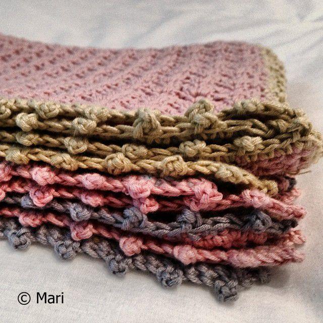 Virkatut tiskirätit / Crochet cleaning cloths