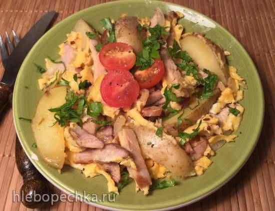 Хоппельпоппель (немецкий крестьянский завтрак) Hoppelpoppel