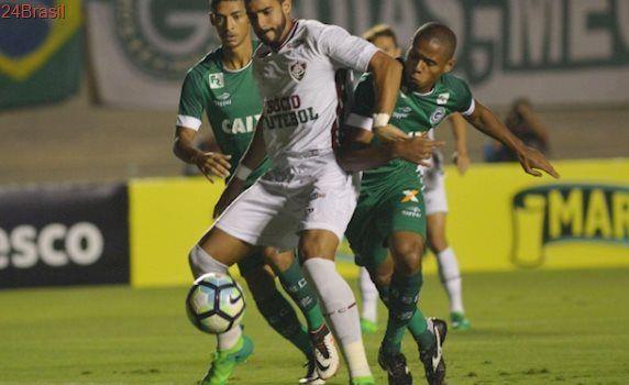 Hoje é dia de festa em Goiânia: Jogando em casa, Goiás vira e derrota o Flu por 2 a 1 na Copa do Brasil