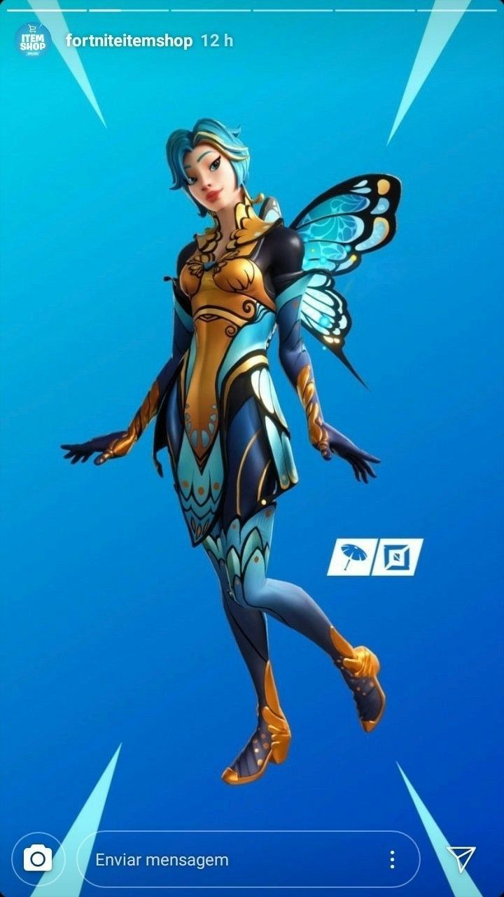 Fairy Skin Fortinite In 2020 Epic Games Epic Games Fortnite Best Gaming Wallpapers