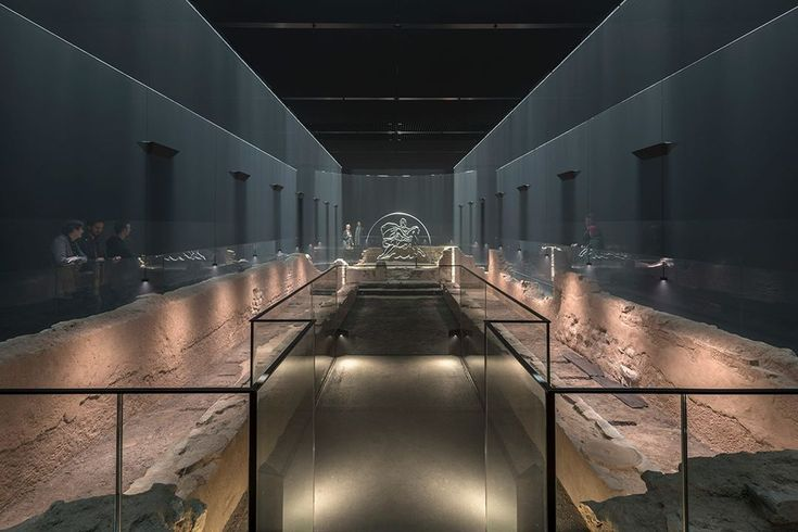 Underground Roman temple reopens as an immersive museum,below Bloomberg's headquarters in London.