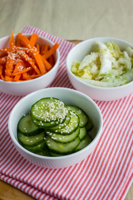 Fast and Easy Japanese Pickled Vegetables | These pickles only take a few hours to make, and taste fresh and crunchy. They're the perfect sides to serve at a barbecue or picnic on a hot summer's day. | From: redpathsugar.com