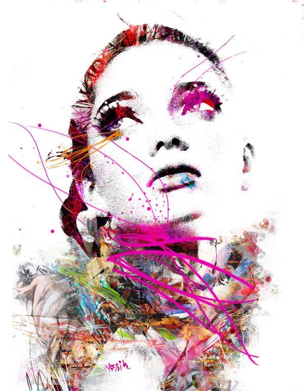 "Saatchi Art Artist: yossi kotler; Digital 2014 New Media ""the beauty of the form"""