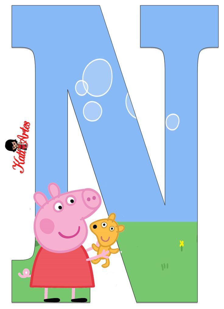 Alfabeto de Peppa Pig y Perrito 2. - Oh my Alfabetos!