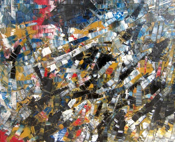 Abstract Composition by Jean Paul Riopelle