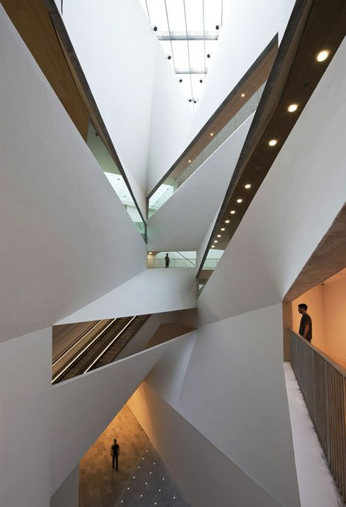 The newly opened Herta and Paul Amir Building at theTel Aviv Museum of Art. // Preston Scott Cohen: Telaviv, Spaces, Tel Aviv Israel, Preston Scott, L'Wren Scott, Art Museums, Tel Aviv Museums, Scott Cohen, Architecture