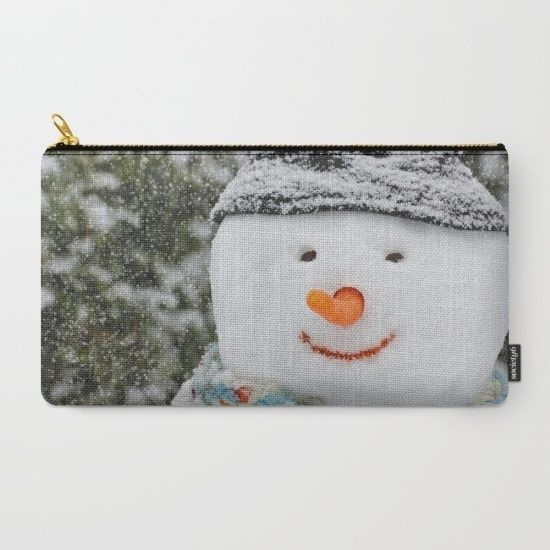 Veske med snømann fra Anita Price Foto & Design