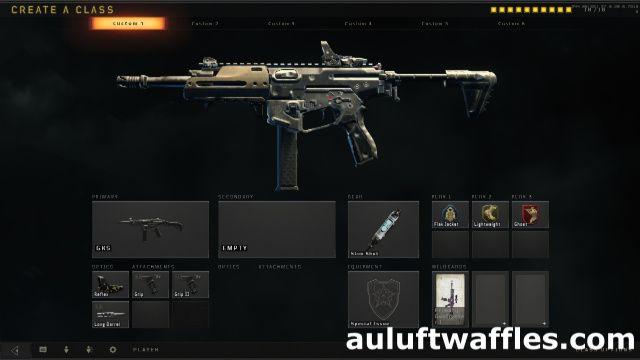 GKS Submachine Gun Best Class Setup Call of Duty Black Ops 4 | COD