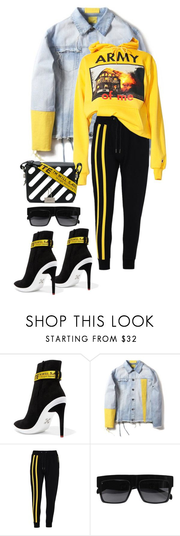 """Untitled #627"" by milly-oro on Polyvore featuring Off-White, Army of Me and CÉLINE"