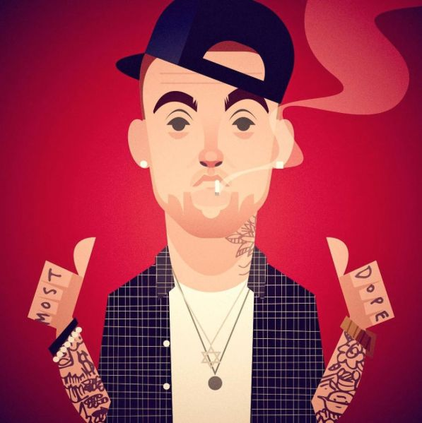 Mac Miller for the New Yorker