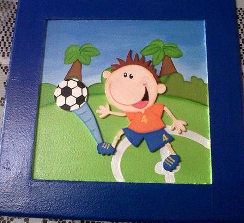 #football #niños #arte