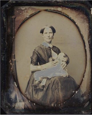 This links to an article on the history of women being photographed breastfeeding.  Kinda cool!!  I had no idea it was a fad to get your photograph like this back then.